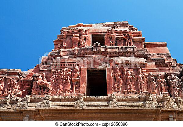 kryszna, świątynia, szczegół - csp12856396