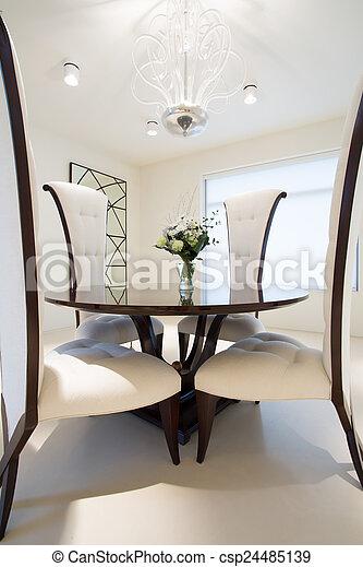 Krzesła Stół Okrągły