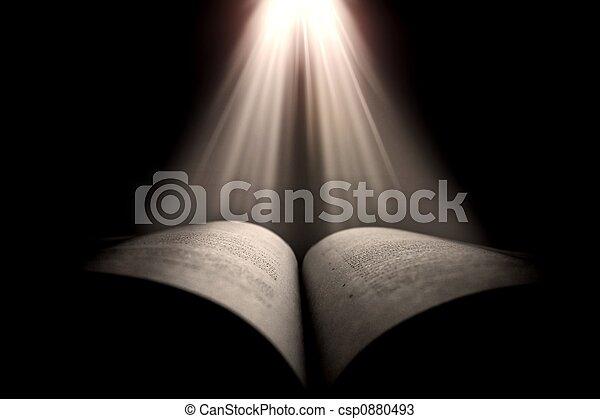 książka, święty - csp0880493