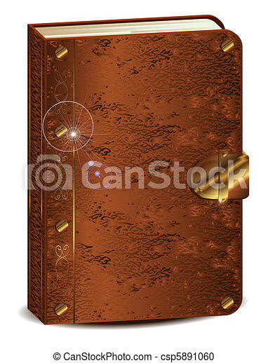 książka, stary - csp5891060