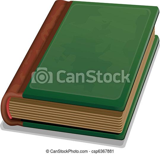 książka, stary - csp6367881
