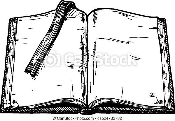 książka, stary - csp24732732