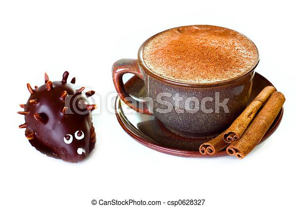 Kuchen Bohnenkaffee Igel Form Zimt Bohnenkaffee Kakau Form
