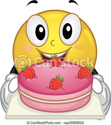 Kuchen erdbeer smiley weisen kuchen erdbeer for Kuchen ausstellung