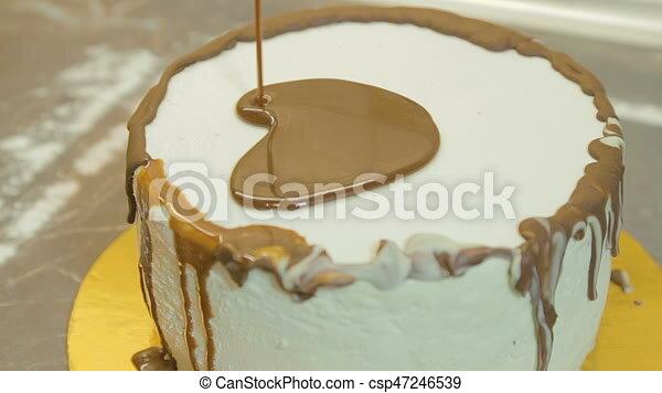 Kuchen Giessen Kakau Glasur Lieb Giessen Lieb Glasur Kakau
