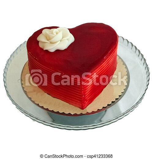 Kuchen Herz Form