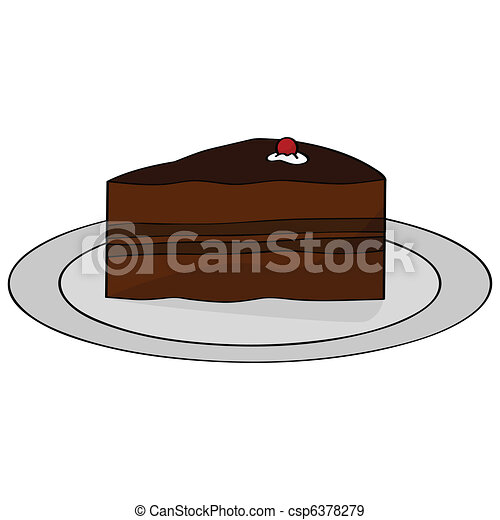 English Birthday Cake Clipart
