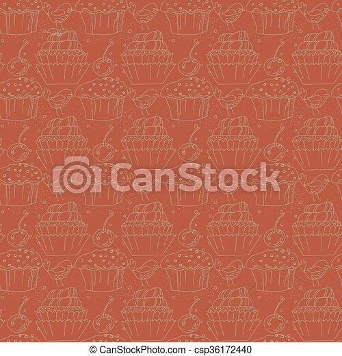 kuchen muster linear seamless csp36172440 - Kuchen Muster