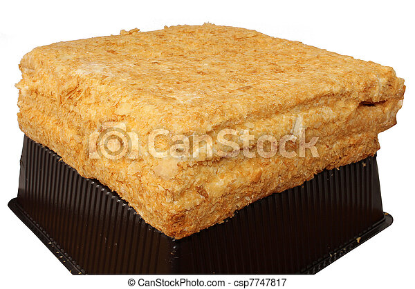 Kuchen Napoleon Kuchen Licht Napoleon Hintergrund