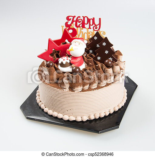 Kuchen Oder Hintergrund Santa Kuchen Weihnachten Kuchen