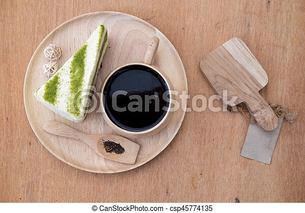 Kuchen Tee Grun Japanisches Matcha Kaffeetasse Tee