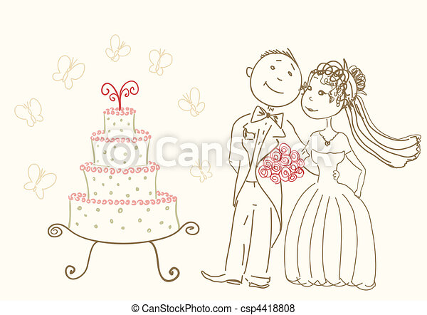 kuchen, wedding - csp4418808