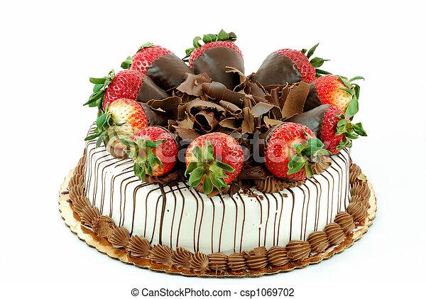 Kuchen Zerrissen Vanille Erdbeeren Kakau Zerrissen Vanille