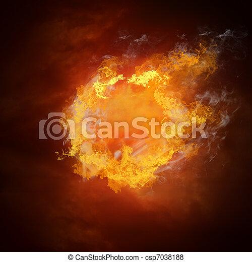 Kugel, heiß, feuer, flamme, fußball, geschwindigkeit Bilder ...