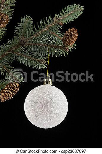Kugel Für Tannenbaum.Kugel Tannenbaum Weihnachten Zweig
