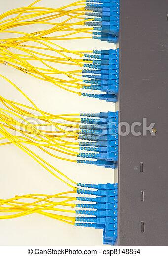 kugel, vernetzung, technologie, kabel, server, daten zentrieren - csp8148854