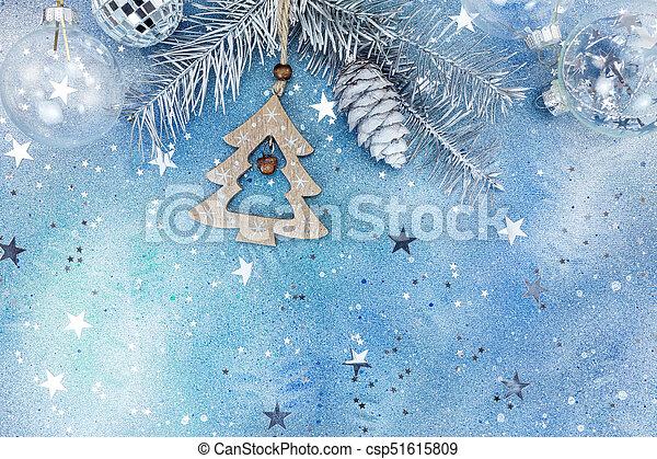 Spitze Für Tannenbaum.Kugeln Hölzern Tannenbaum Weihnachtsdeko Glas Zweig Silber