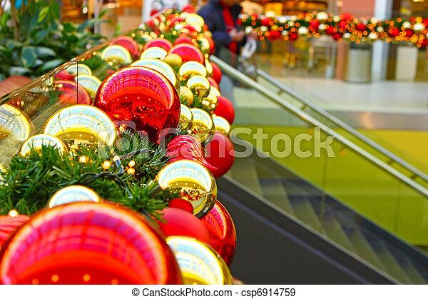 kugeln, weihnachten - csp6914759