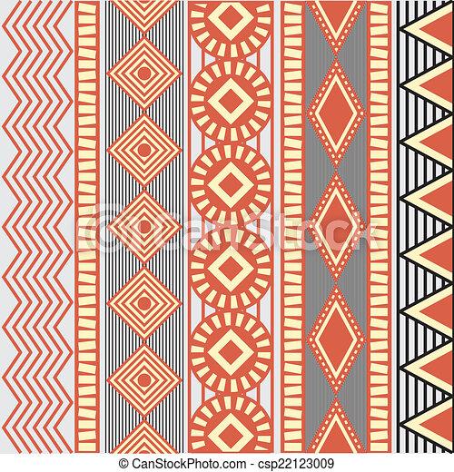 kultura, afrykanin - csp22123009