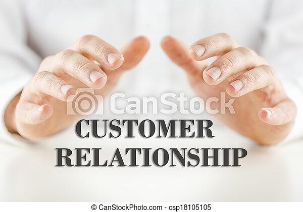 kund, förhållande, -, ord, beskyddande, man - csp18105105