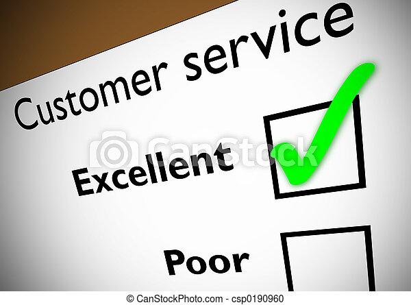 kunde, rückkopplung, service - csp0190960