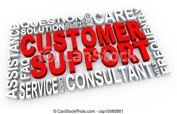 kundendienst, 3d - csp10080881