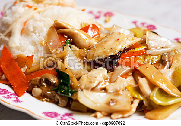 Kung Pao Chicken - csp8907892