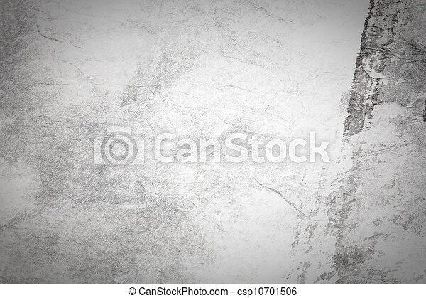 kunst, chinees, abstract, grijze , papier, schilderij - csp10701506