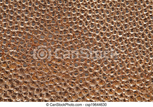 Kupferblatt in Bronze - csp19644630