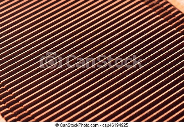 Bekannt Kupfer, gebraucht, heizkörper, form., groß, abkühlen, edv, sinken JR27