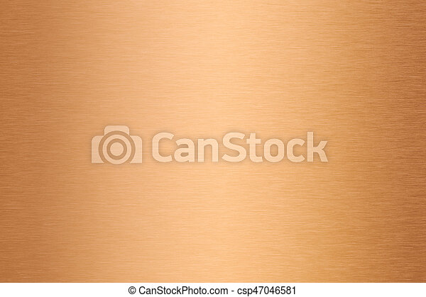 kupfer, metall, beschaffenheit, gebürstet, oder, bronze - csp47046581