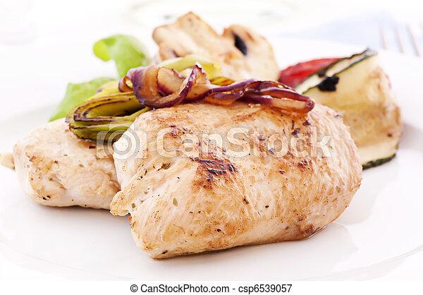 kurczak, stek, cebule - csp6539057