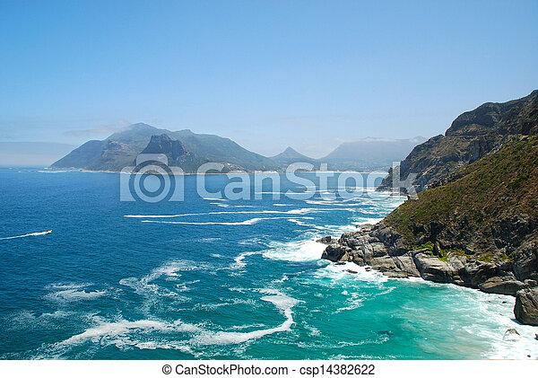 kust, aanzicht - csp14382622