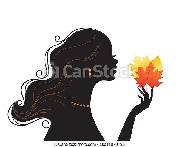 kvinde, skønhed - csp11070196