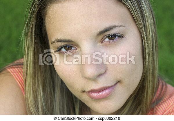 kvinna - csp0082218