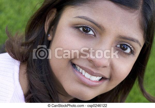 kvinna - csp0246122