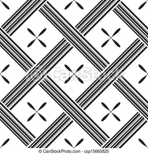 kwadraty, próbka, wektor, seamless, ilustracja - csp15665820