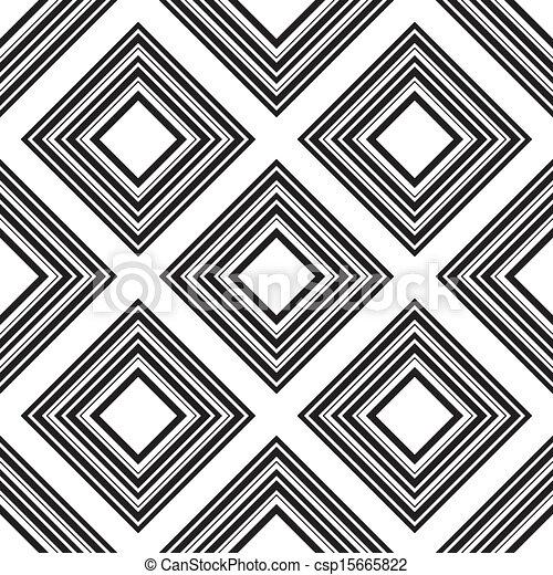 kwadraty, próbka, wektor, seamless, ilustracja - csp15665822