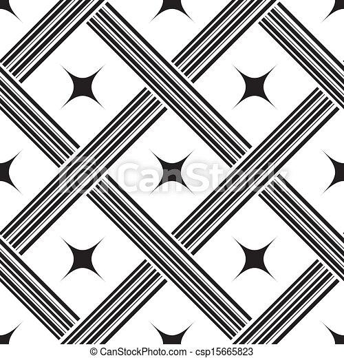 kwadraty, próbka, wektor, seamless, ilustracja - csp15665823