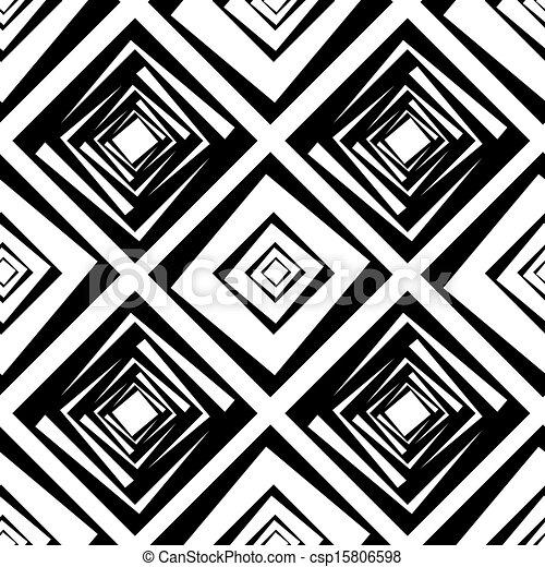 kwadraty, próbka, wektor, seamless, ilustracja - csp15806598