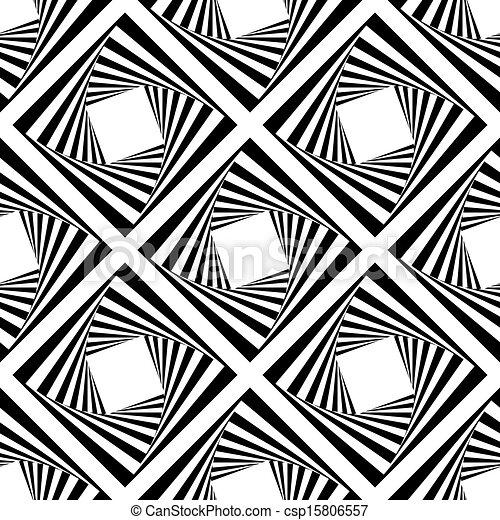 kwadraty, próbka, wektor, seamless, ilustracja - csp15806557