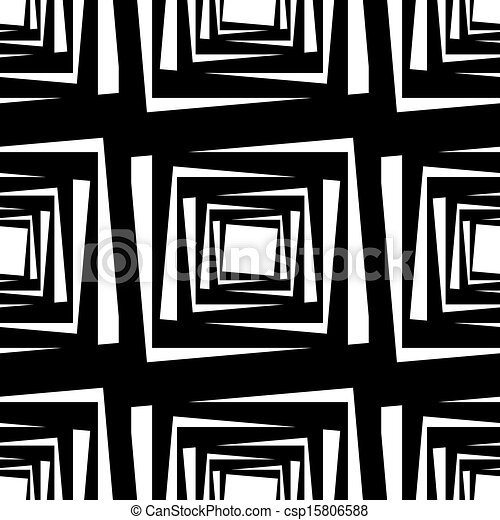 kwadraty, próbka, wektor, seamless, ilustracja - csp15806588