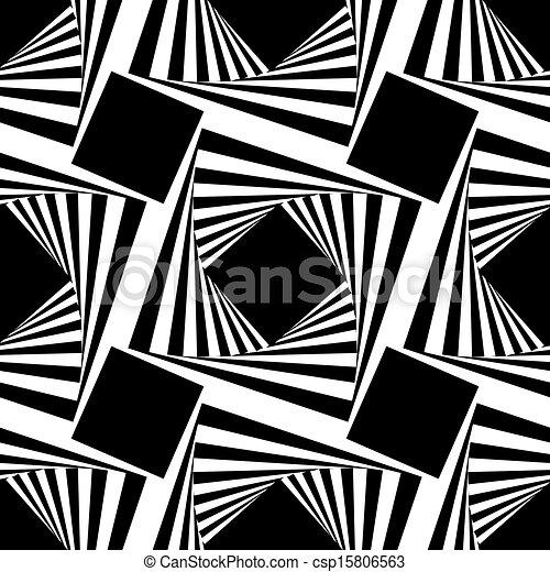 kwadraty, próbka, wektor, seamless, ilustracja - csp15806563