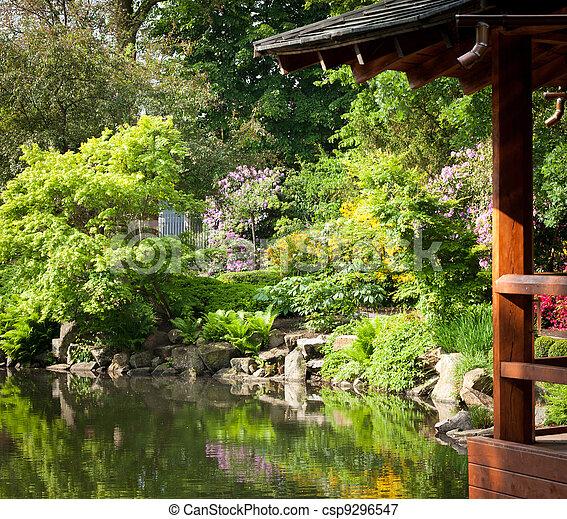 kwiaty, ogród, pełny - csp9296547
