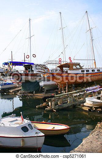 Kyrenia old port - csp5271061