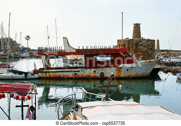 Kyrenia old port - csp5537735