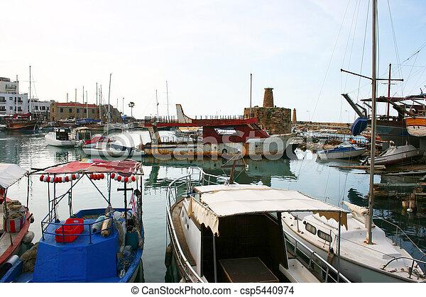 Kyrenia old port - csp5440974