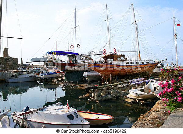 Kyrenia old port - csp5190429