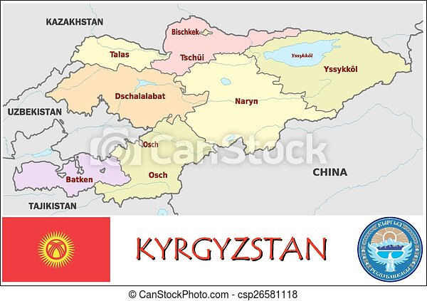 Kyrgyzstan administrative divisions