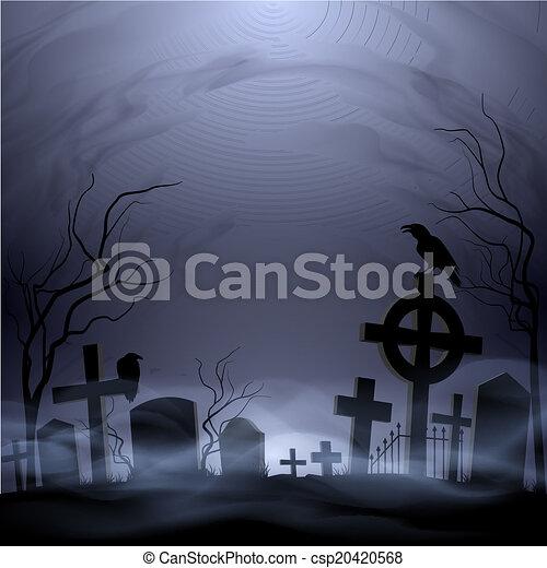 kyrkogård - csp20420568